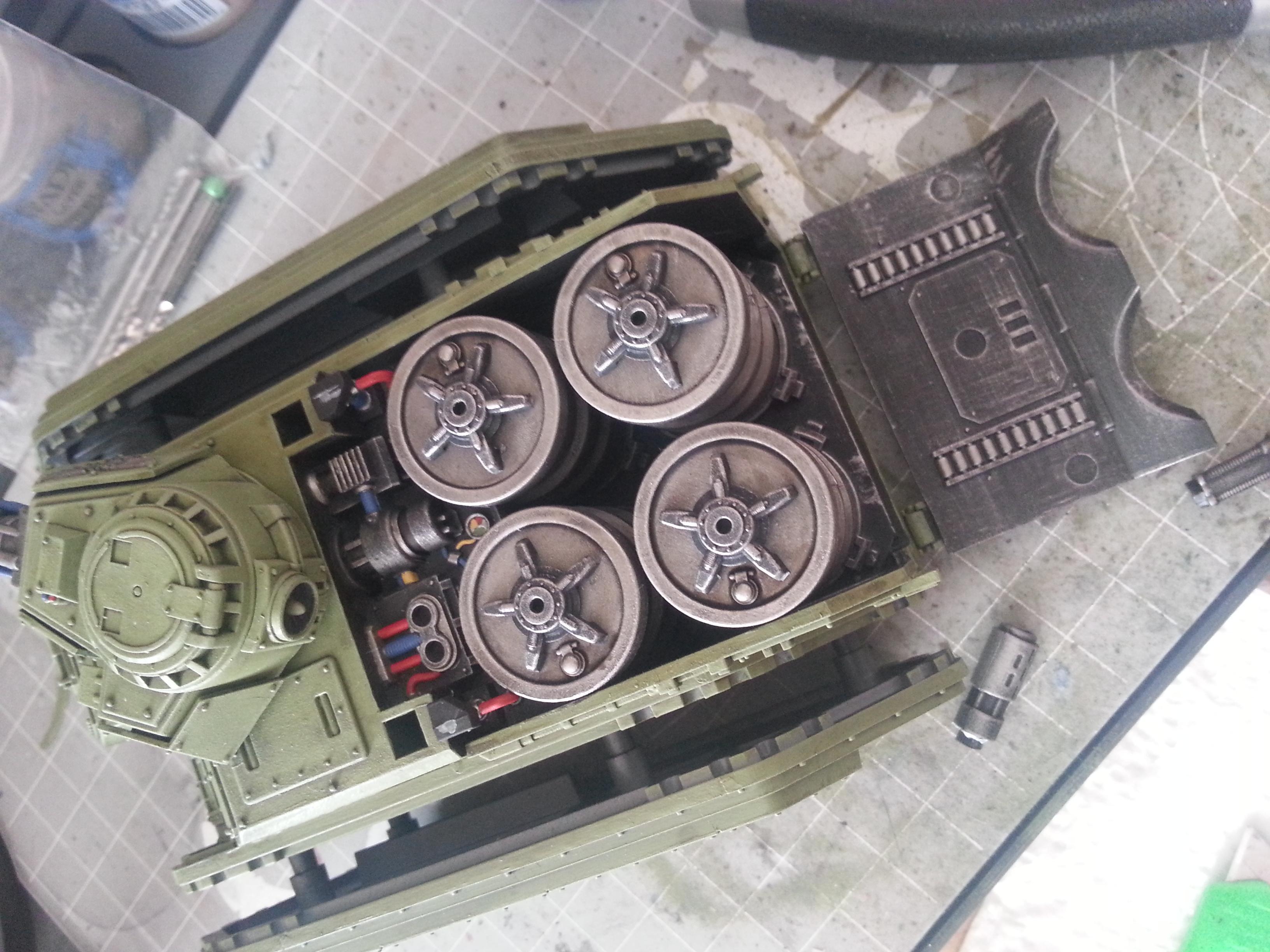 Astra Militarum, Cadians, Hellhound, Imperial Guard