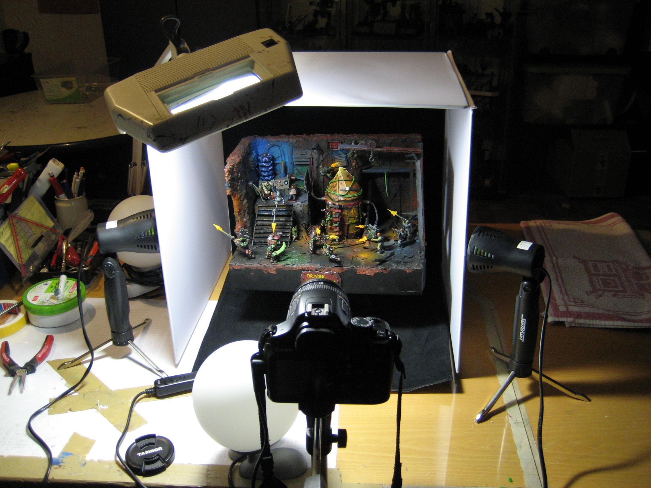 Dr. Nork diorama