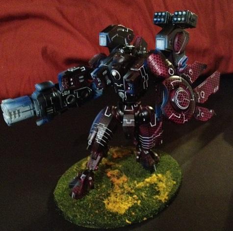 Pink, Riptide, Tau, Warhammer 40,000
