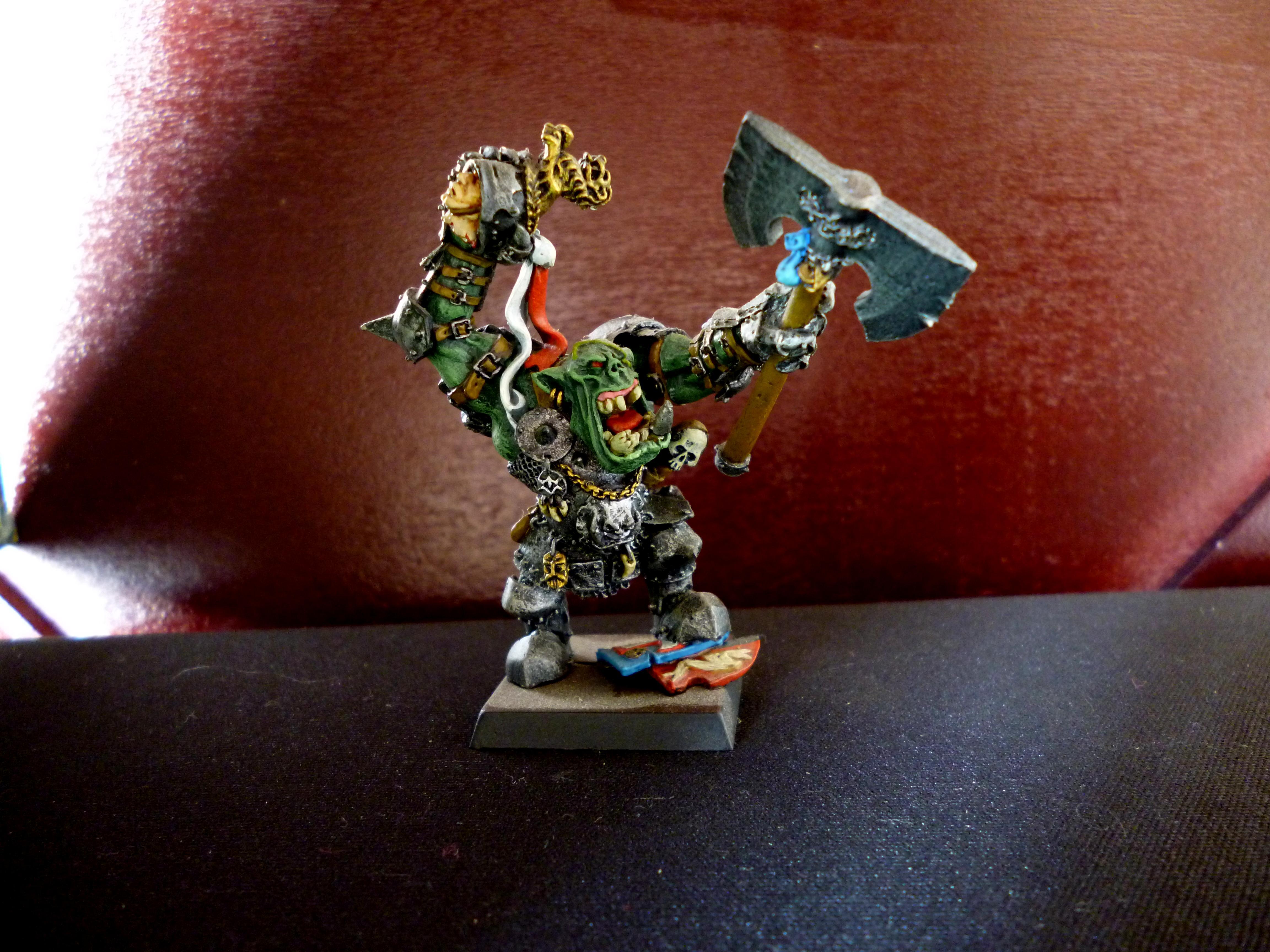Goblins, Greenskins, Grimgor Ironhide, Grobi, Orcs