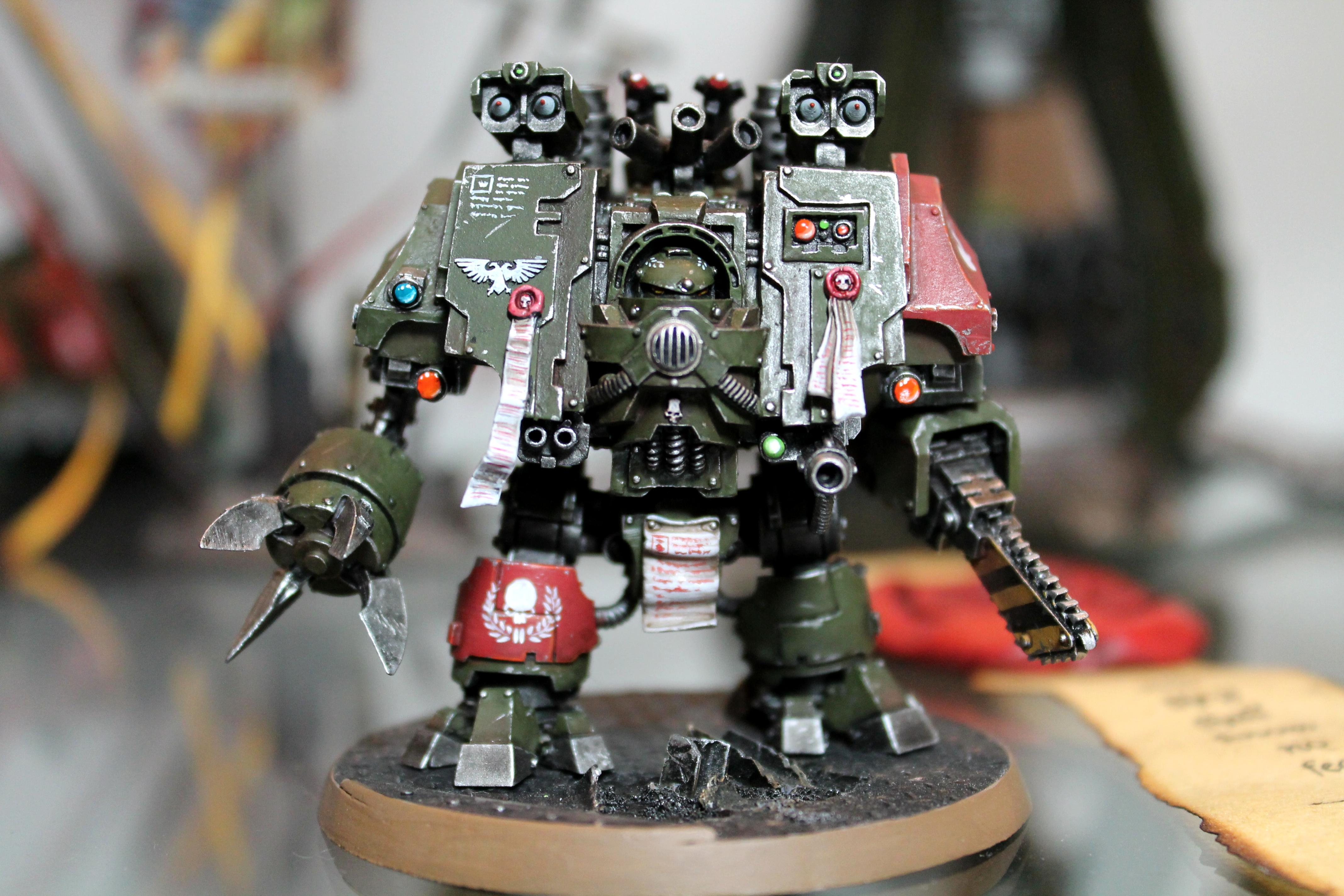 Devil Dogs, Dreadnought, Ironclad, Space Marines