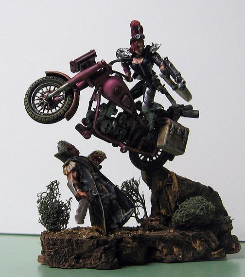 Awesome!, Awesome%21, Diorama, Motorbike