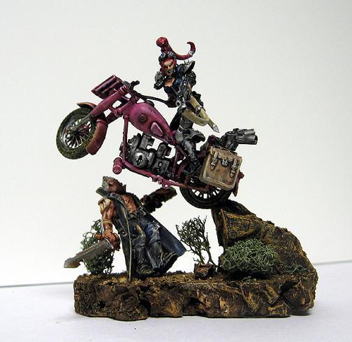 Motorbike, Helen Wheels