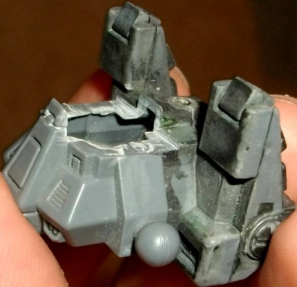Conversion, Tutorial, Xv8 Battlesuit