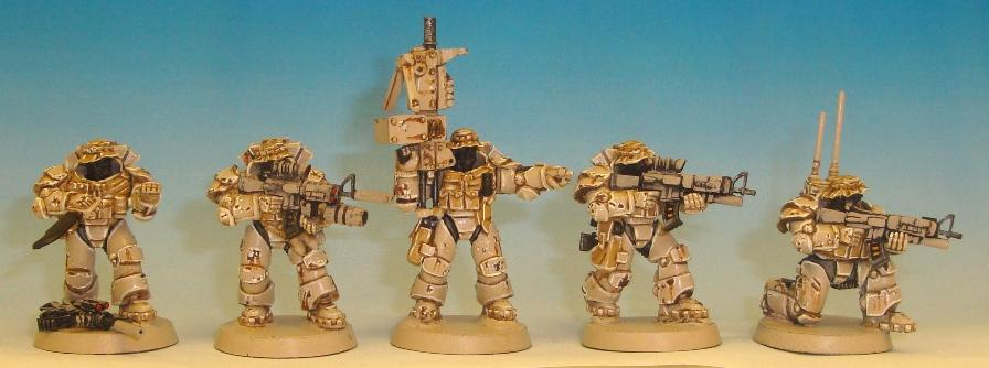 Conversion, Seals, Space Marines, Space Sharks