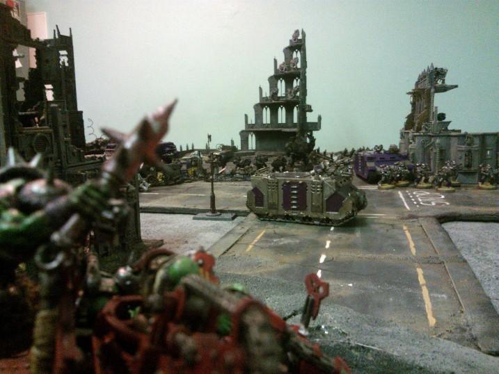 Battle, Orks, Terrain