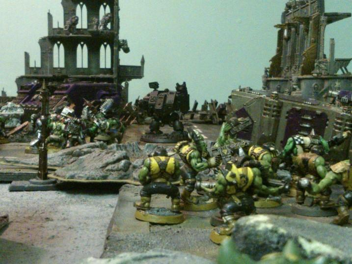 Battle, Orks, Terrain
