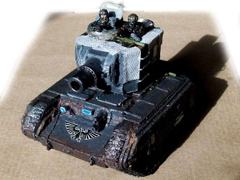 Conversion, Demolisher, Leman Russ, Rats, Scratch, Tank, Tunnel War, Vehicle