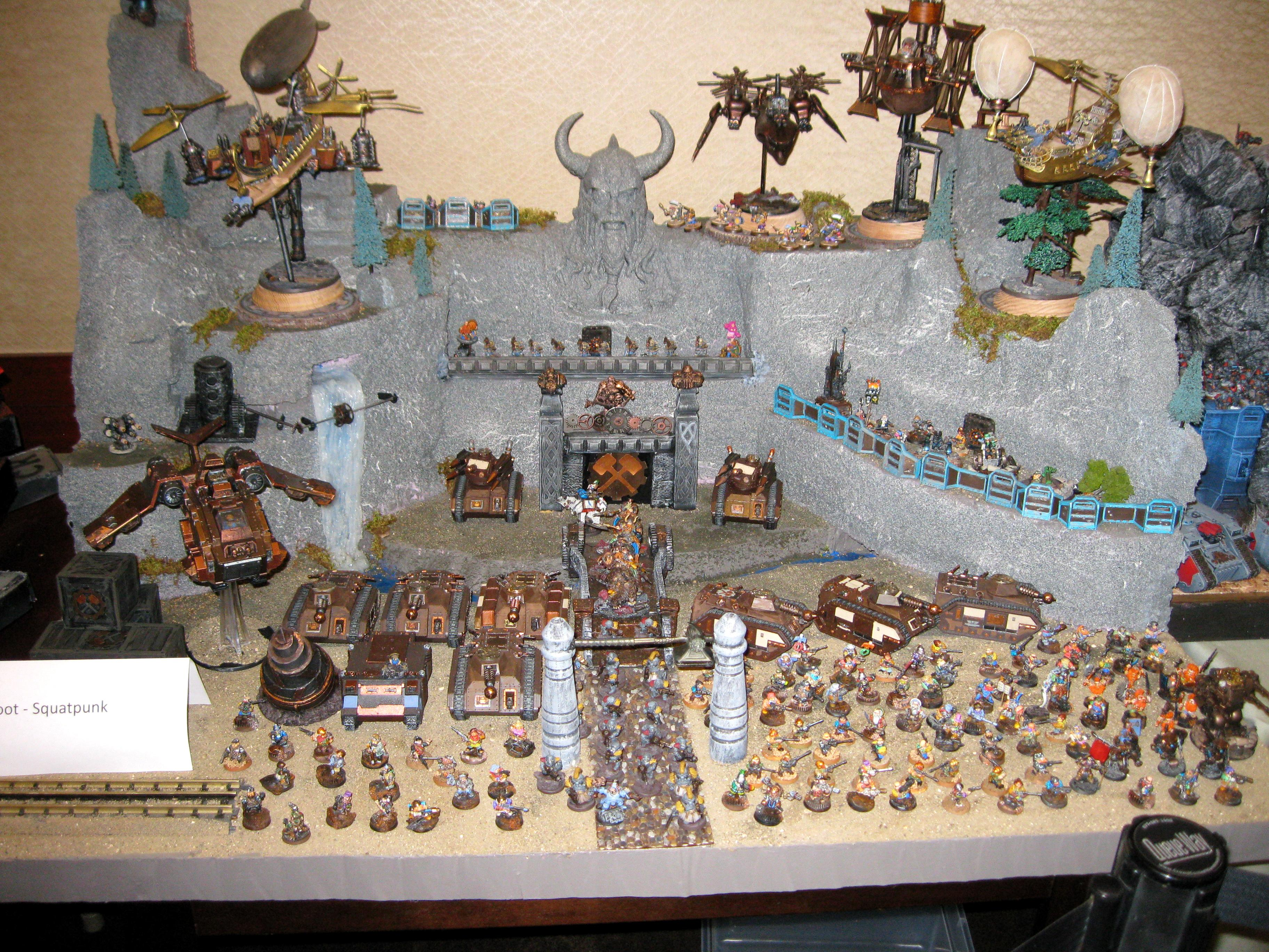 Based, Dwarves, Mech, Painted, Rogue Trader, Space, Squats, Terrain