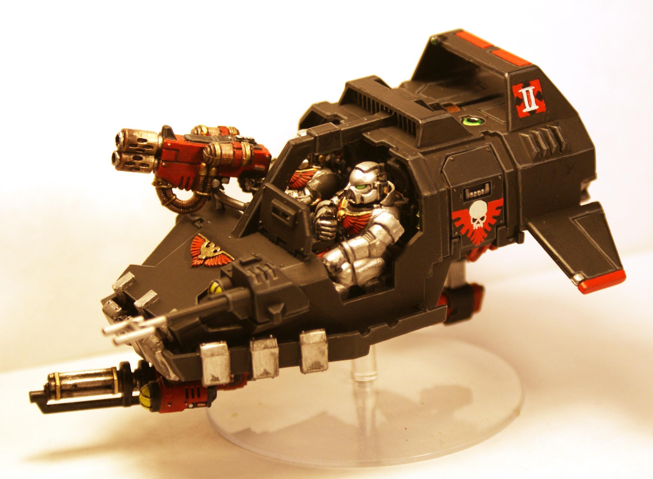Doom Eagles, Land Speeder, Space Marines, Warhammer 40 K