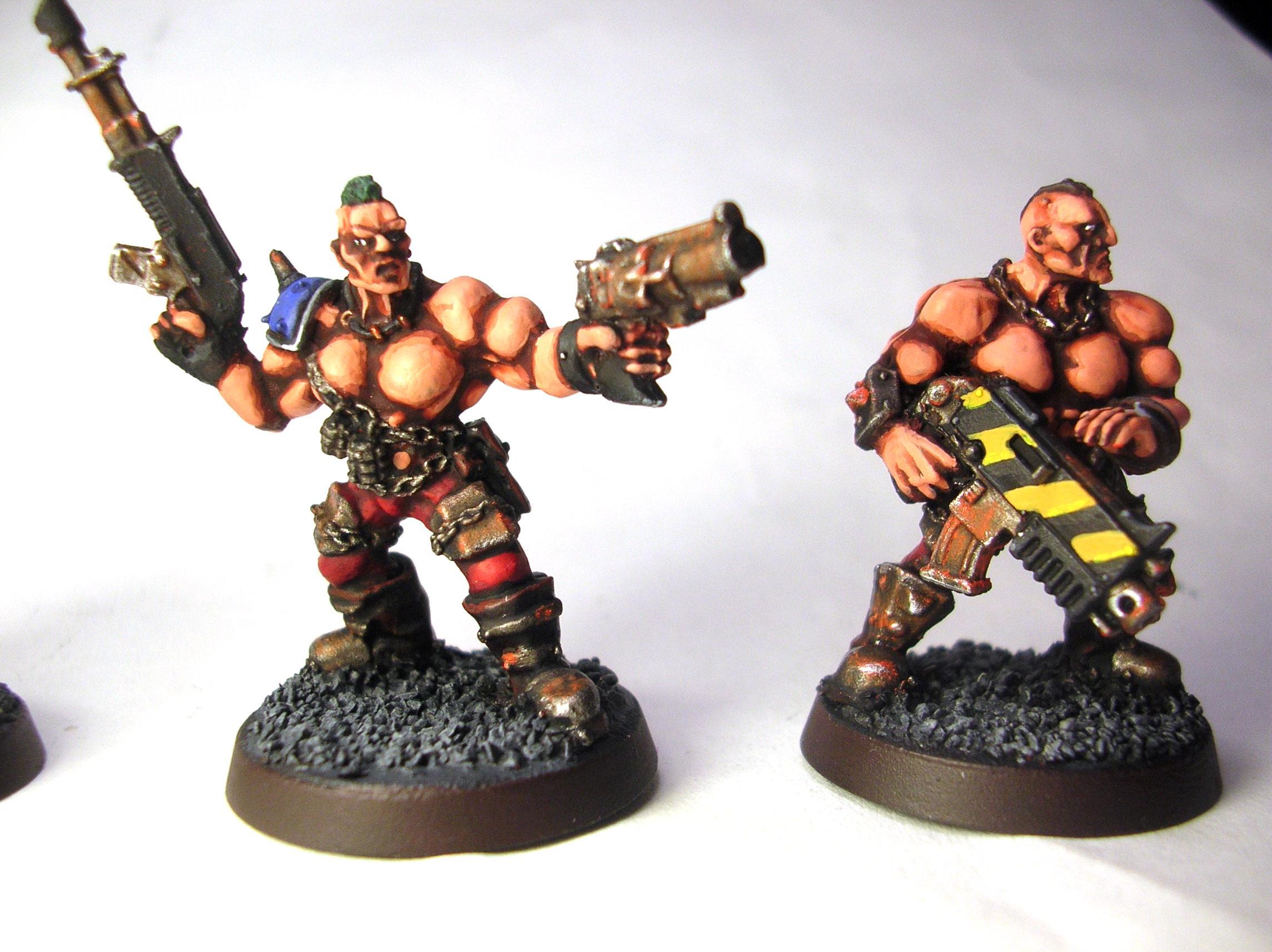 Goliath, Necromunda, Punk, Raider