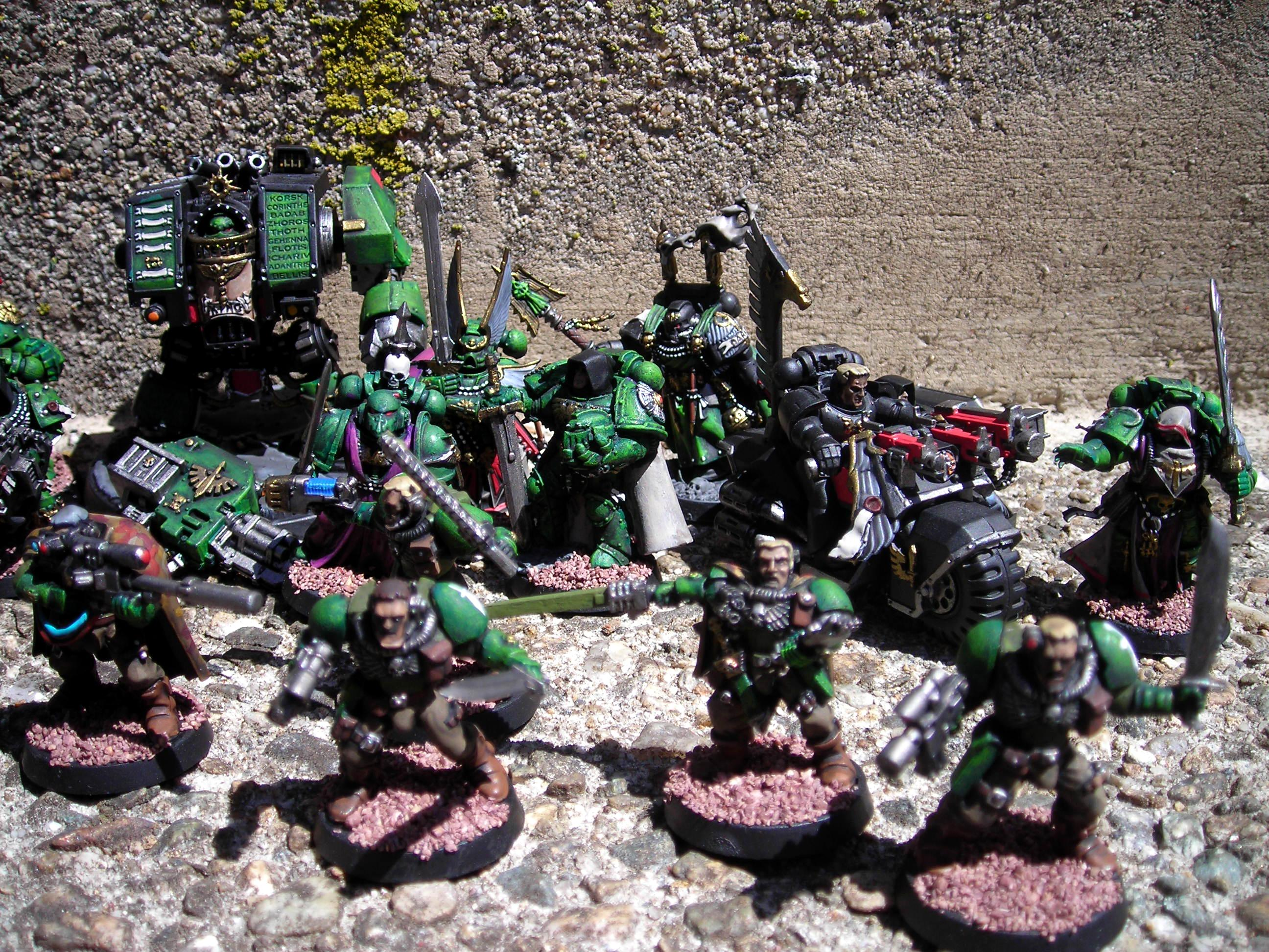 Dark Angels, dark angels