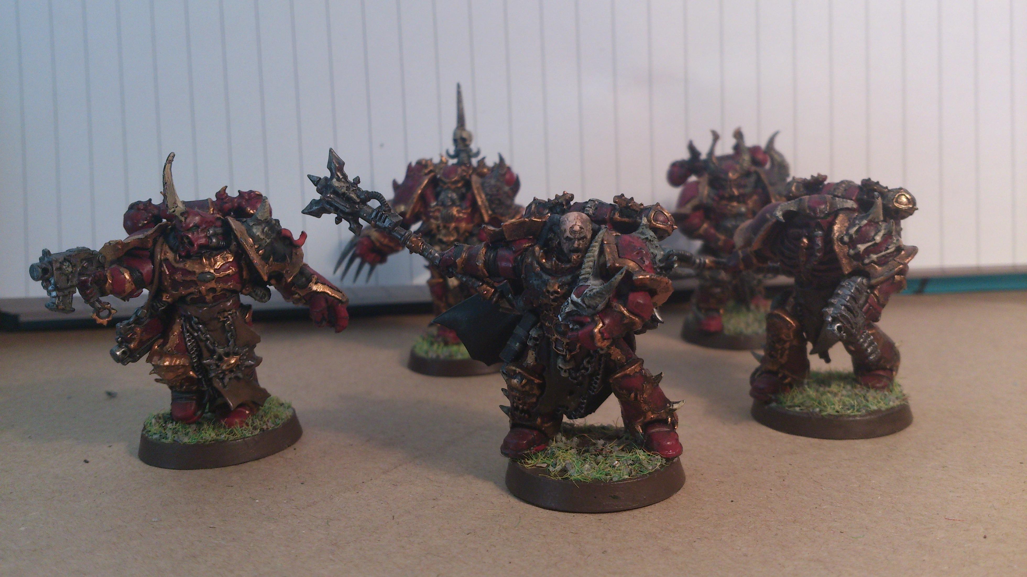 Chaos Space Marines, Chosen, Warhammer 40,000