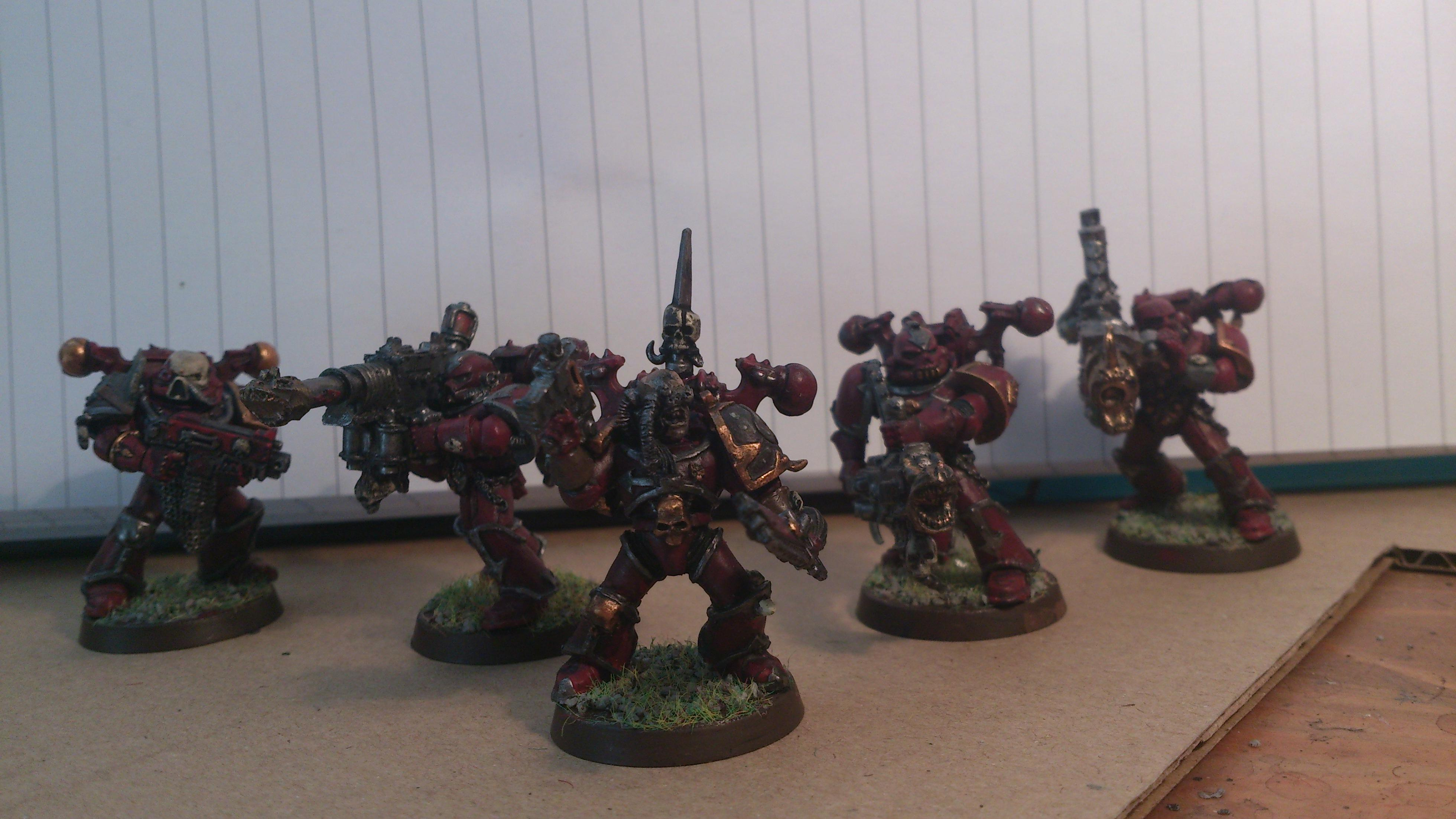 Havocs. A few more to do yet