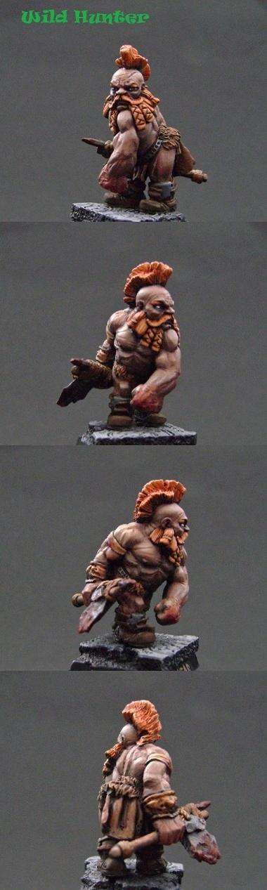 Dwarves, Scibor, Slayer, Wild Hunters