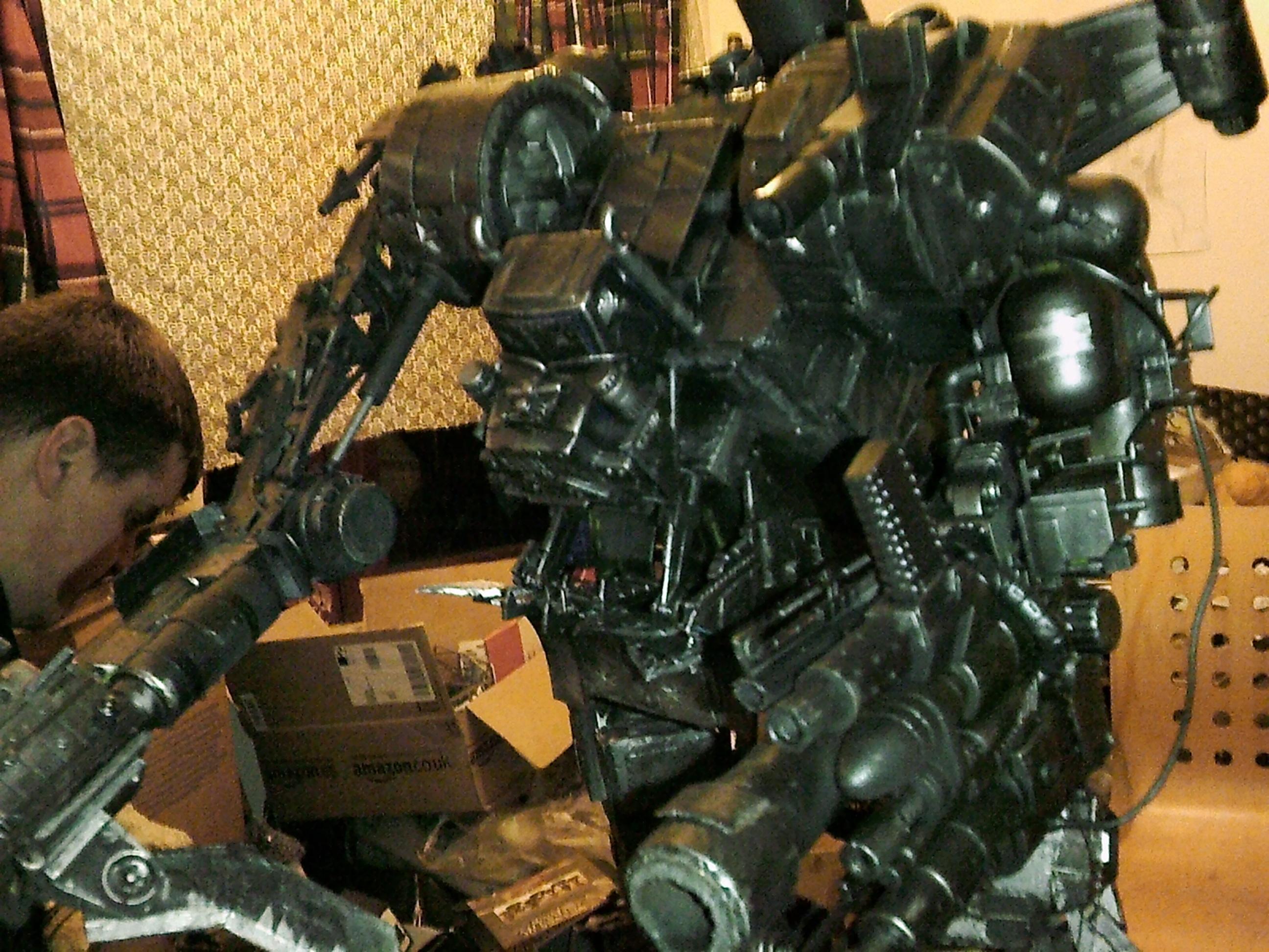 Gargant, Orks, Scratch Build, Stompa, Storm Boy, Titan