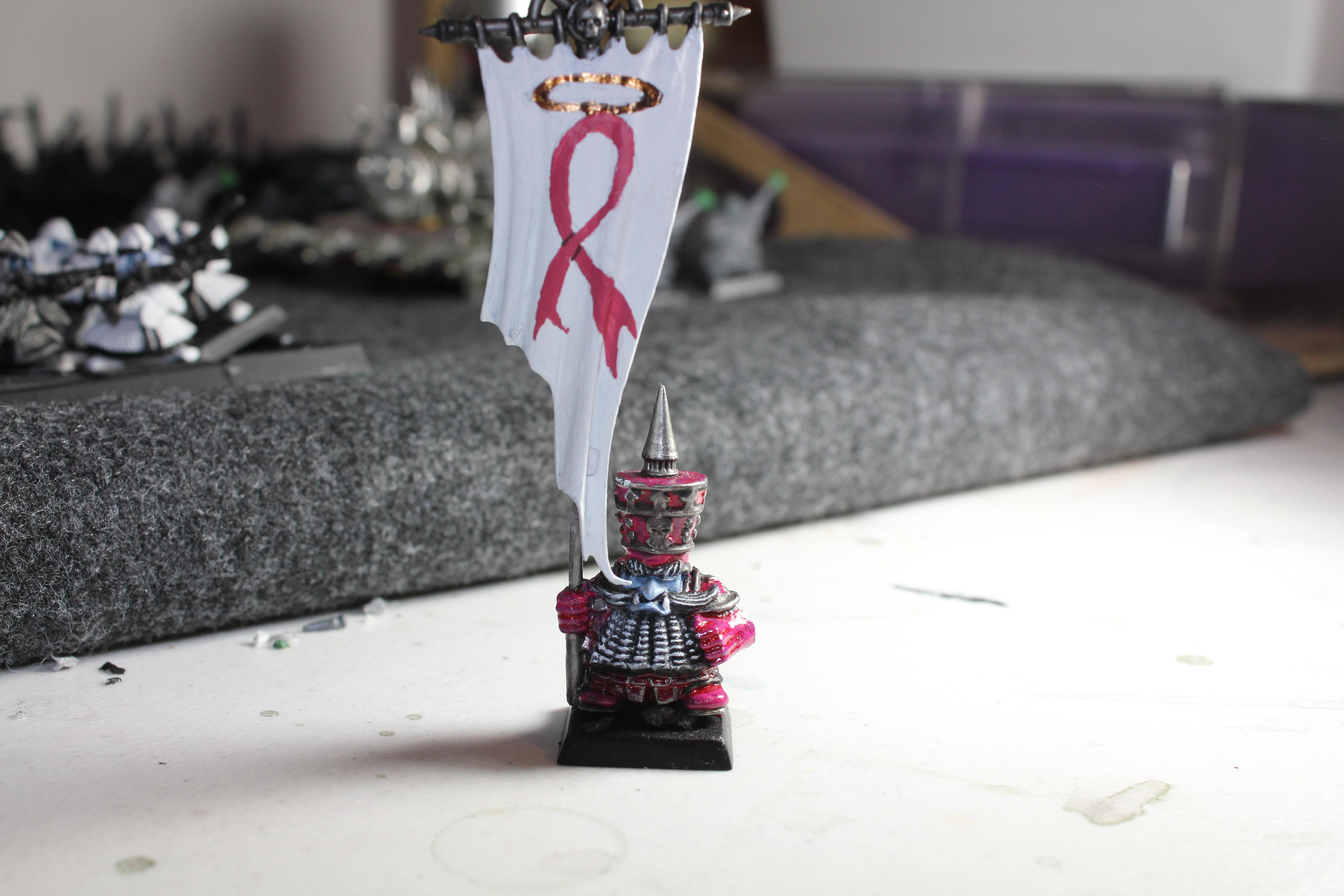 Chaos Dwarves, Chaos Dwarf Standard Bearer (for the cure)