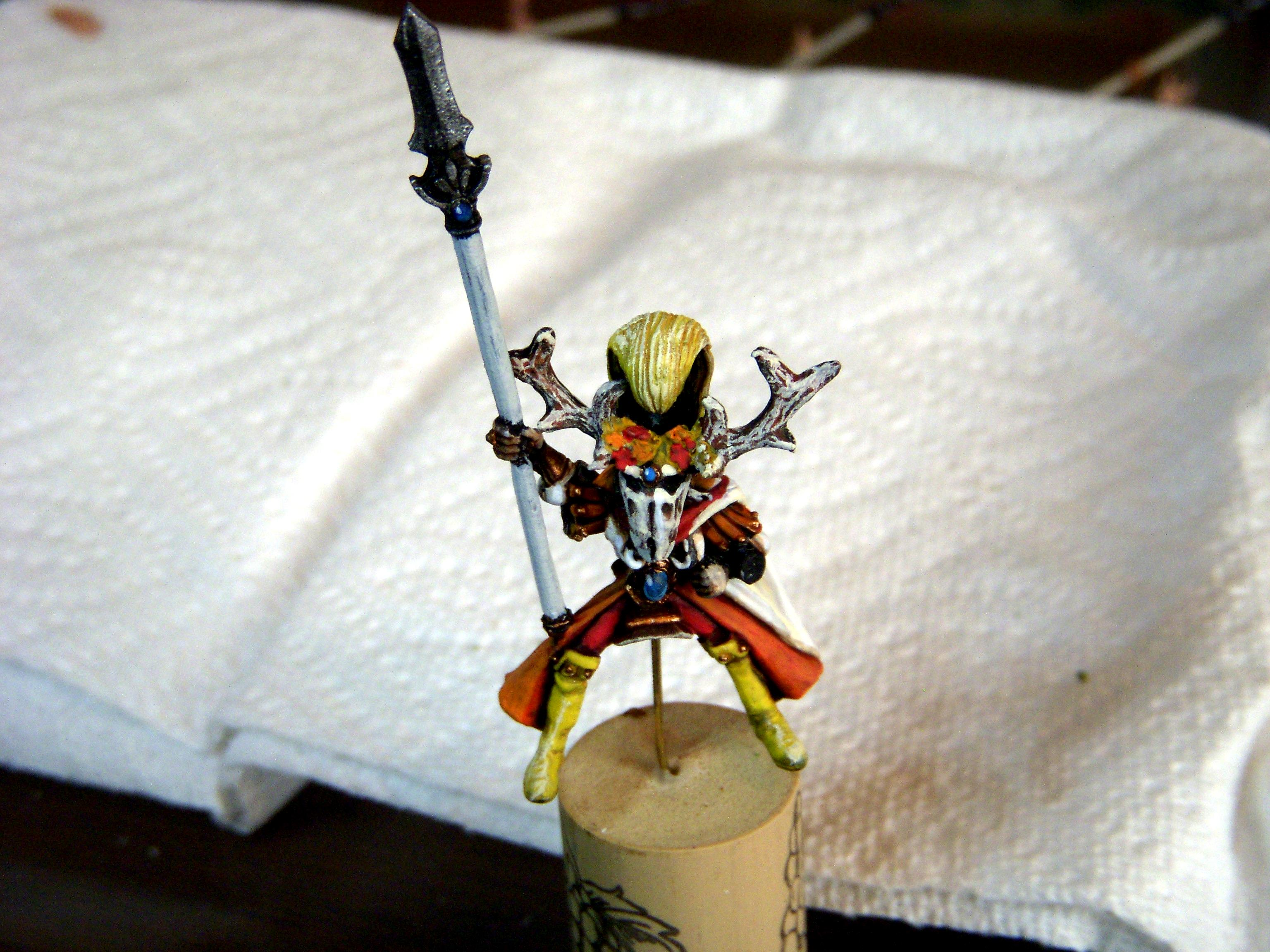 Wood Elves, Autumn-themed Wood Elf Glade Riders Completed 5.1