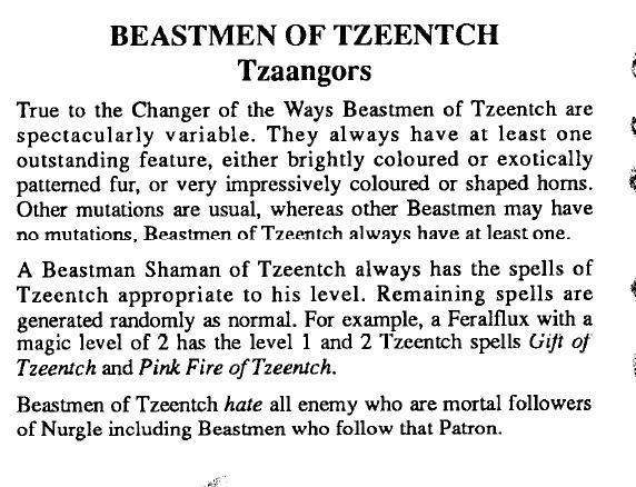 Tzaangors Realm Of Chaos