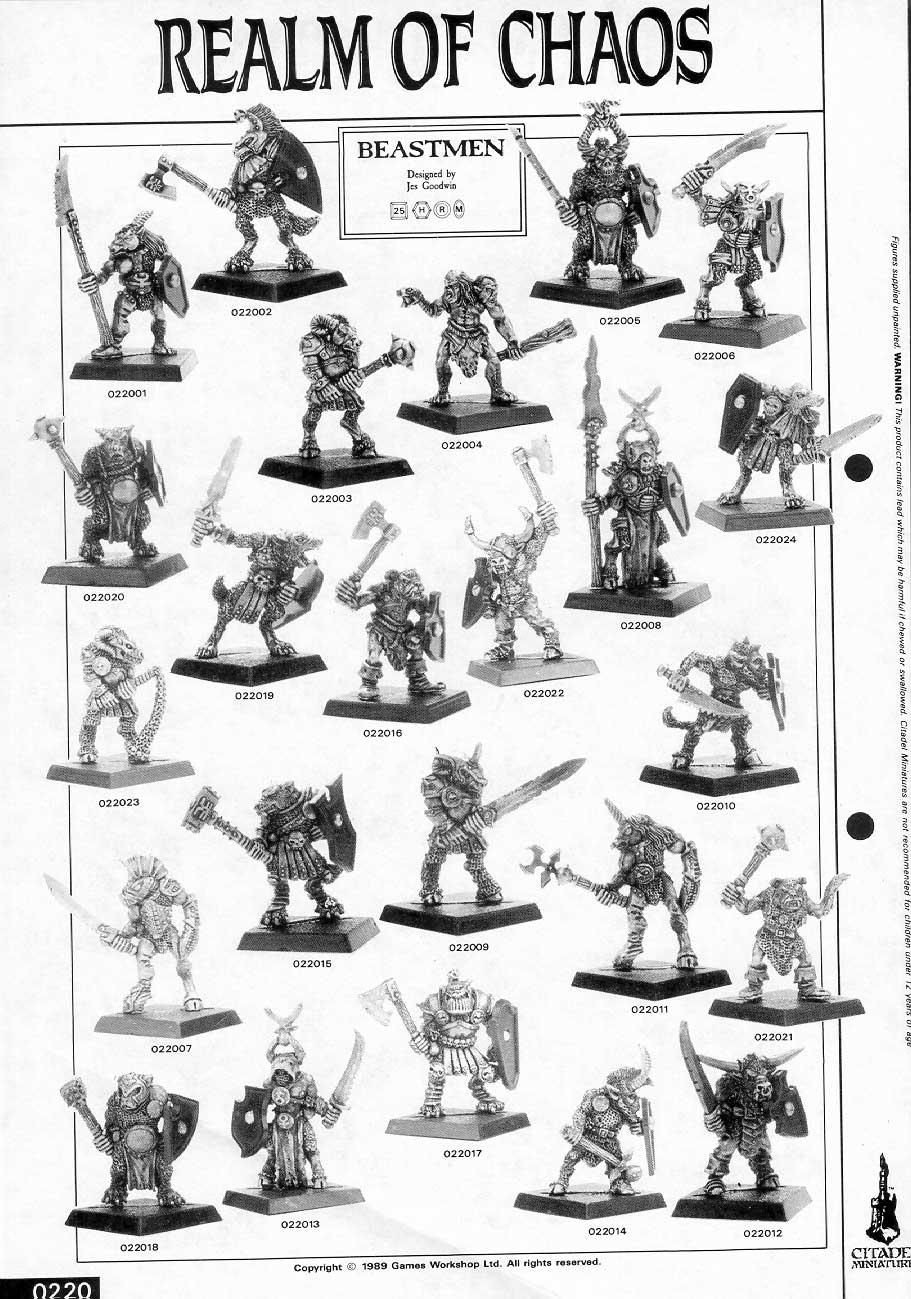 Realm of Chaos Beastmen
