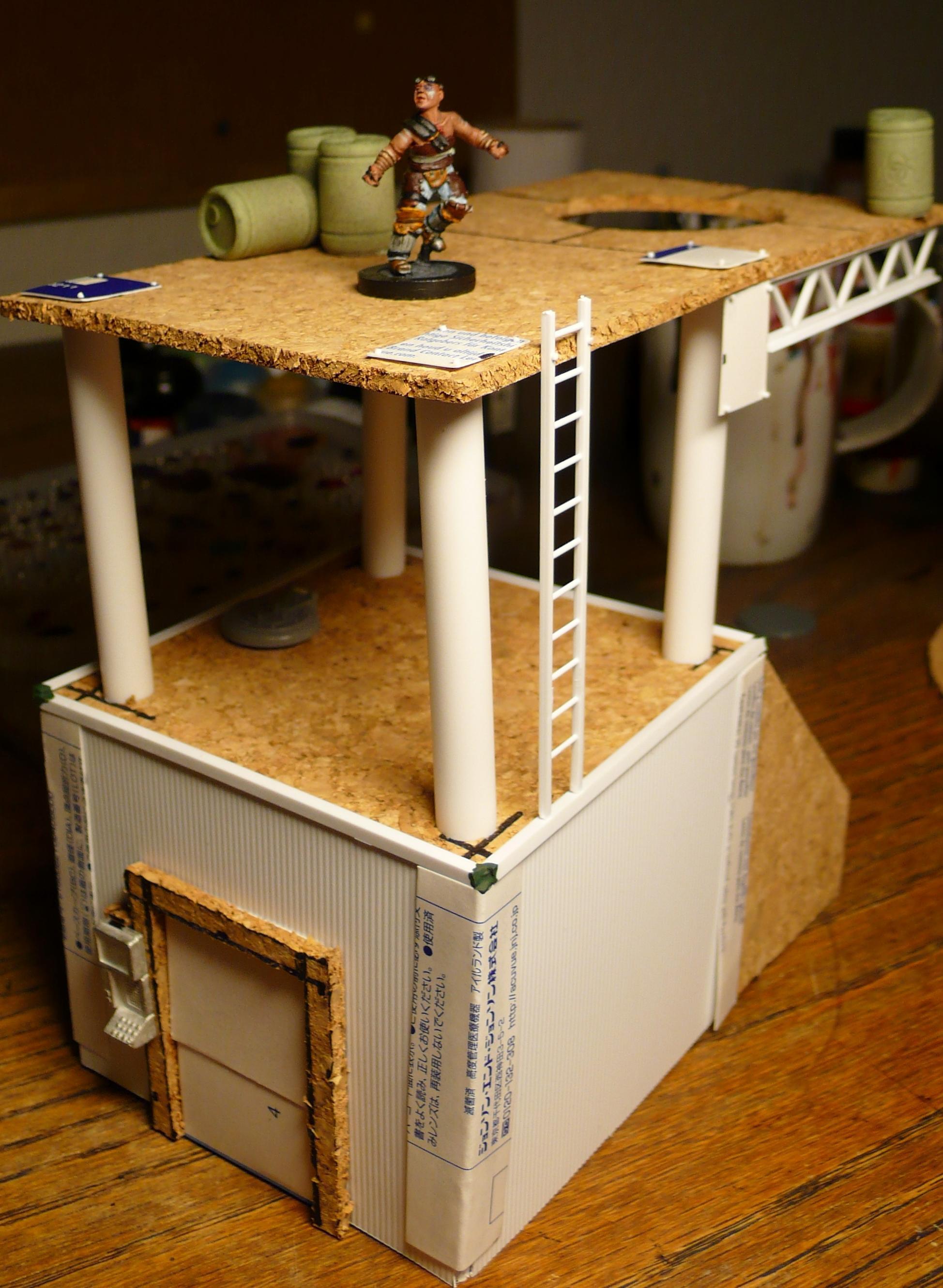 Ladder, Necromunda, Scratch Build, Terrain