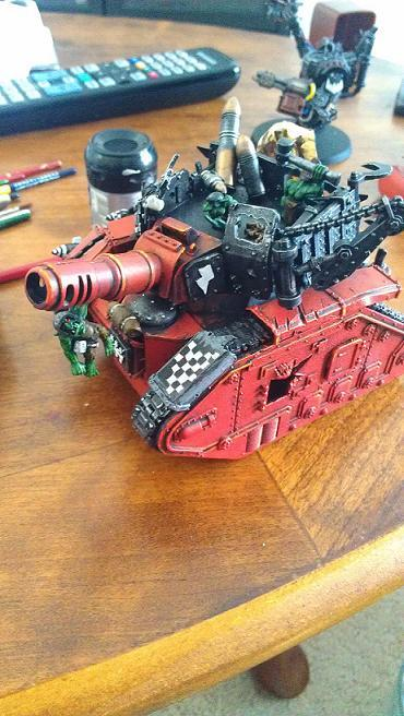 Conversion, Leman Russ, Looted Wagon, Orks