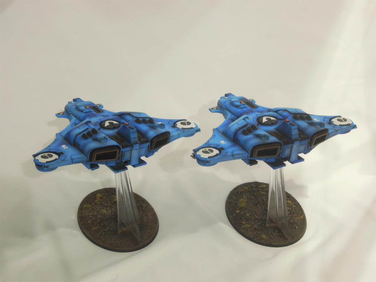 Barracuda, Flyer, Tau, Warhammer 40,000
