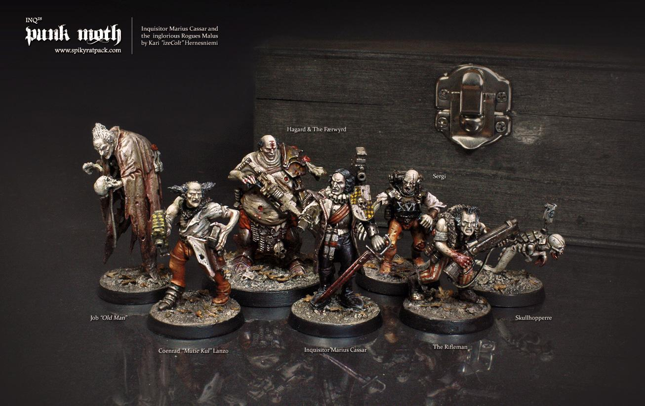 Inq28, Inquisitor, Punk Moth, Spiky Rat Pack, Warhammer 40,000