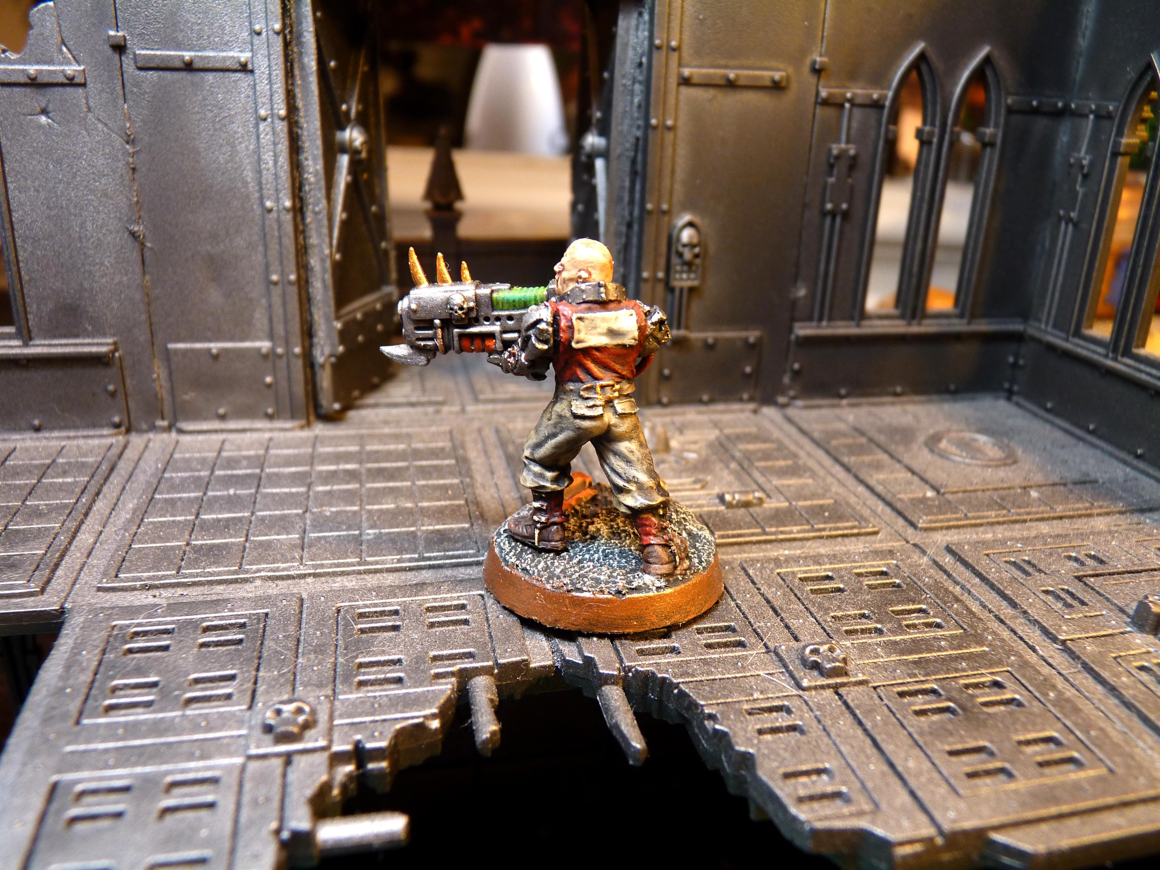 Anvil Industries, Chaos Renegades, Imperial Guard, Plasma Gun, Renegade Guard, Victoria Miniatures