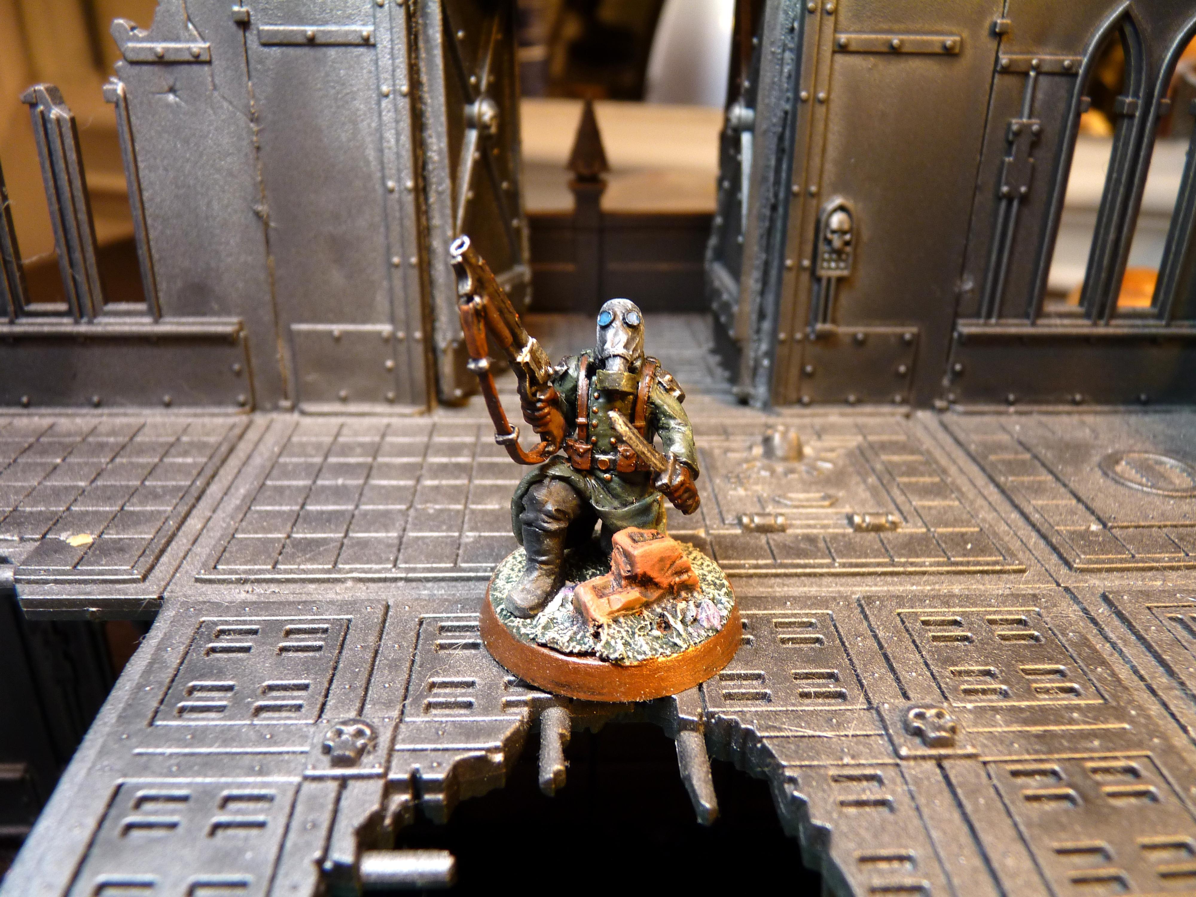 Chaos Renegades, Imperial Guard, Maxmini, Renegade Guard, Renegade Veteran, Shotgun, Victoria Miniatures