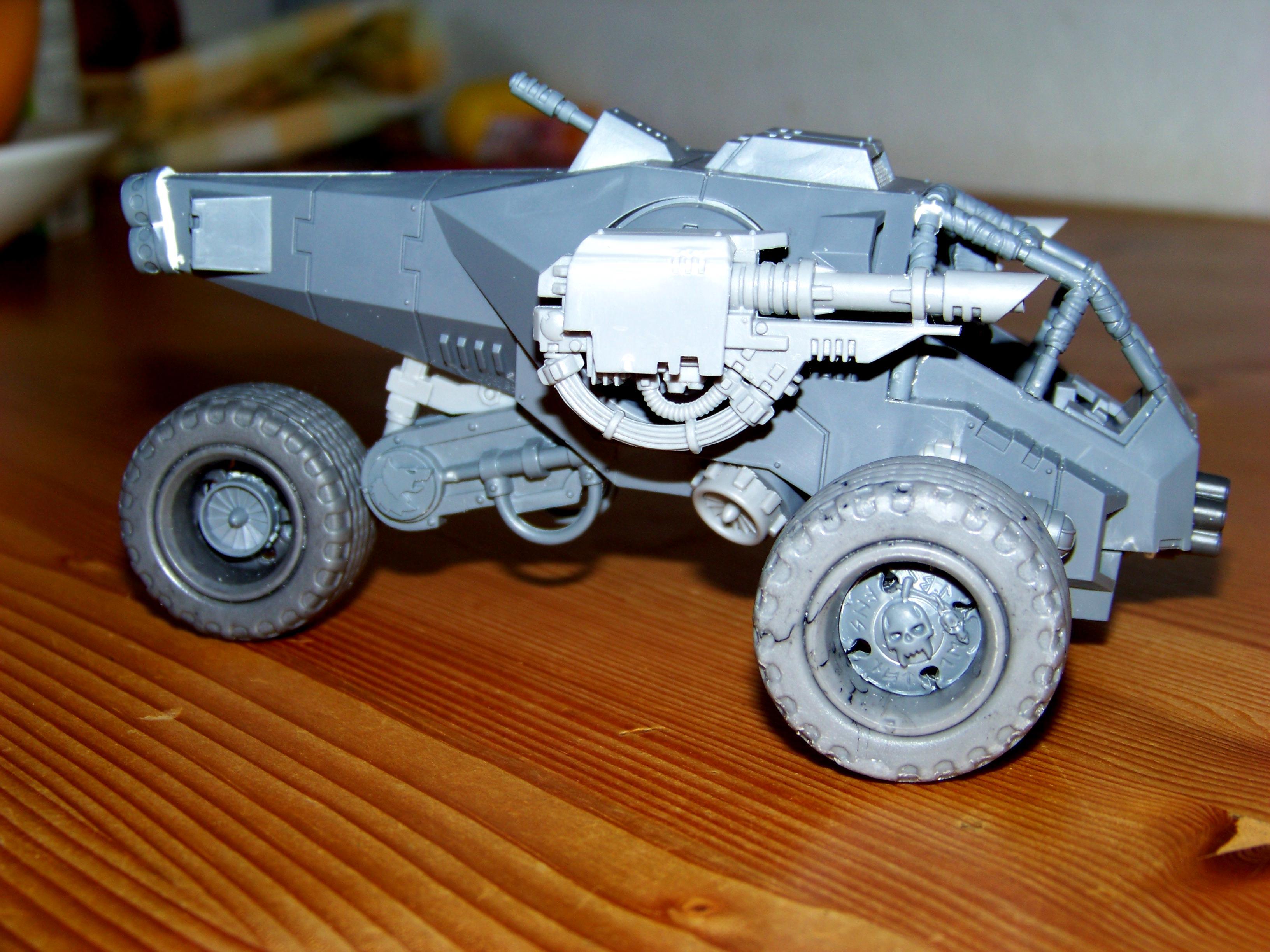 Space Wolves, Storm Talon, Trike, Work In Progress