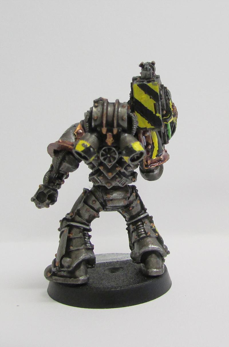 Forge World, Heavy Weapon, Iron Warriors, Mkiii Iron Armour, Plasma Cannon, Pre-heresy, Warhammer 40,000