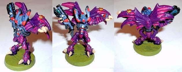 Leader, Purple, Strain Leader, Tash'var, Tau, Vespid, Vespids, Winged