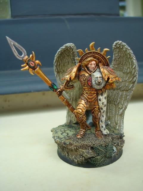 Blood Angels, Horus Heresy, Primarch, Sanguinius