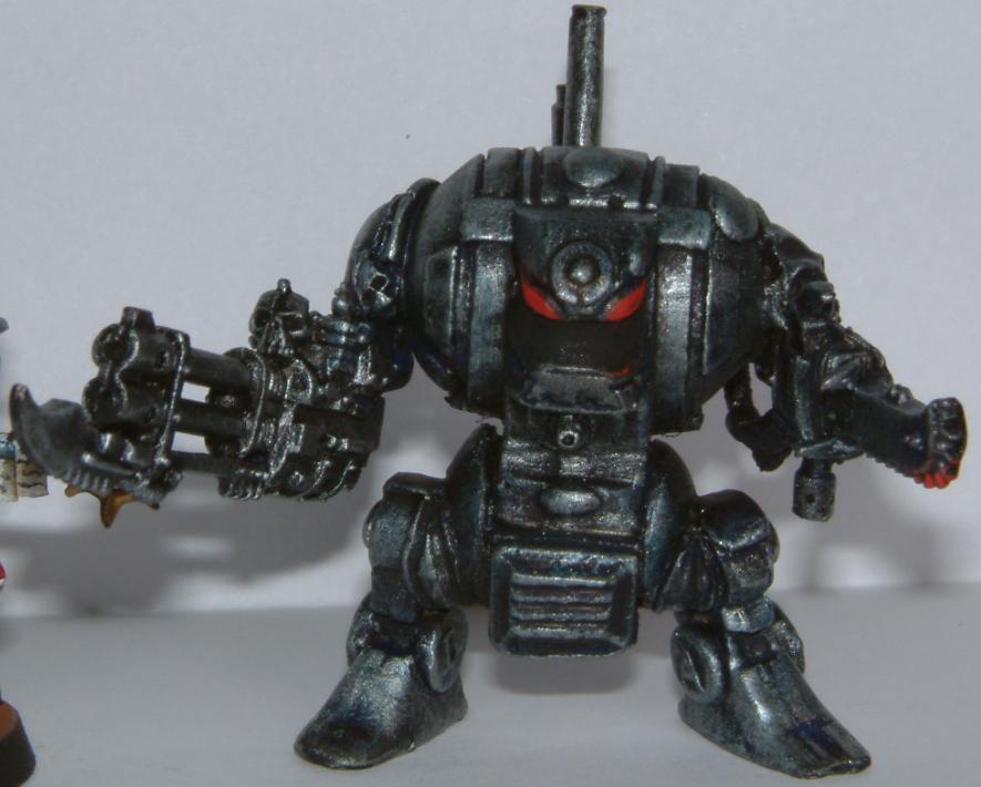 Comversion, Dreadnought, Grey Knights, Hellbrute, Nurgle