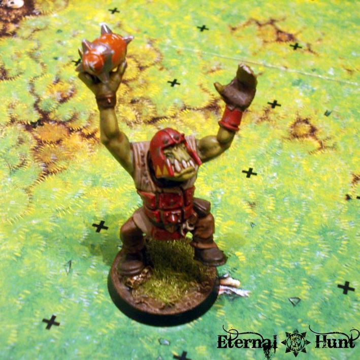 Battle Report, Bb, Blood Bowl, Game, Orcs Vs. Lustria