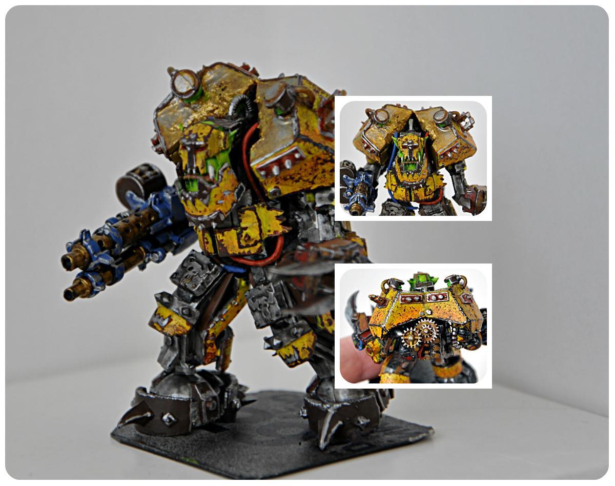 Boss, Conversion, Custom, Mega, Meganob, Orks, Waaagh, Warhammer Fantasy