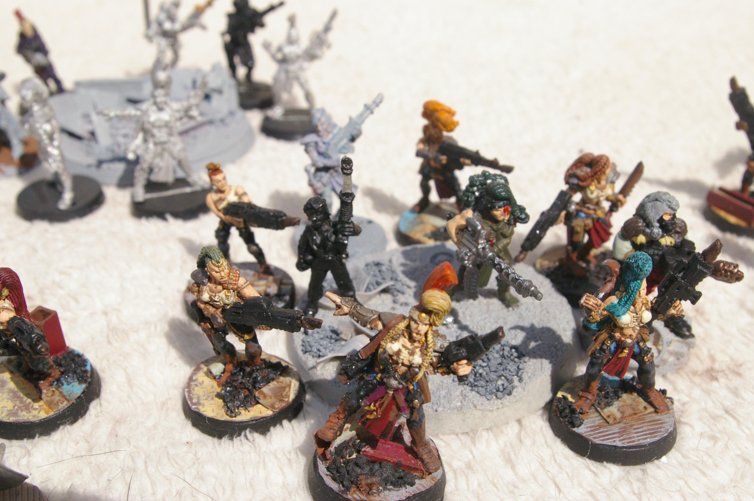 Scintilla Irregulars - Infantry Squad