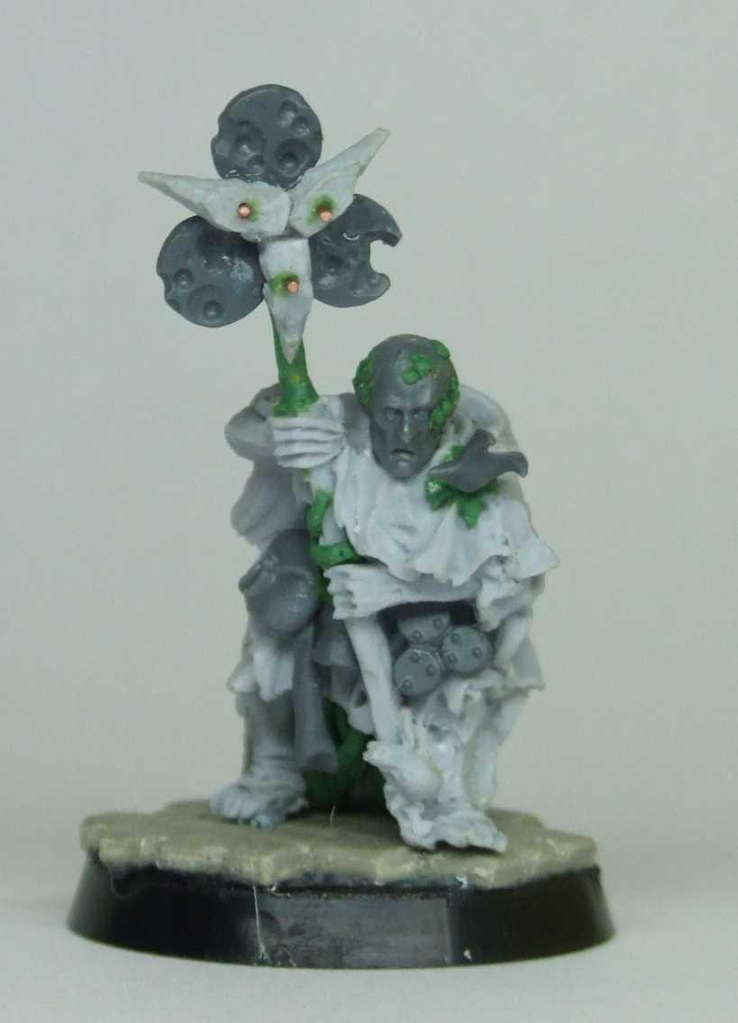 Nurgle, Sorcerer, Warhammer Fantasy, Work In Progress