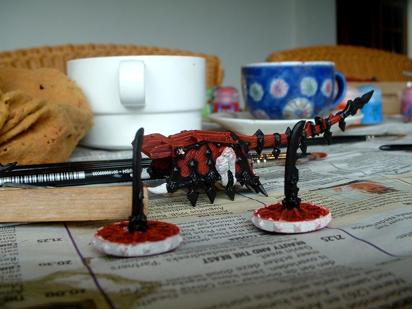 Blood Throne, Chariot, Daemons, Khorne, Work In Progress
