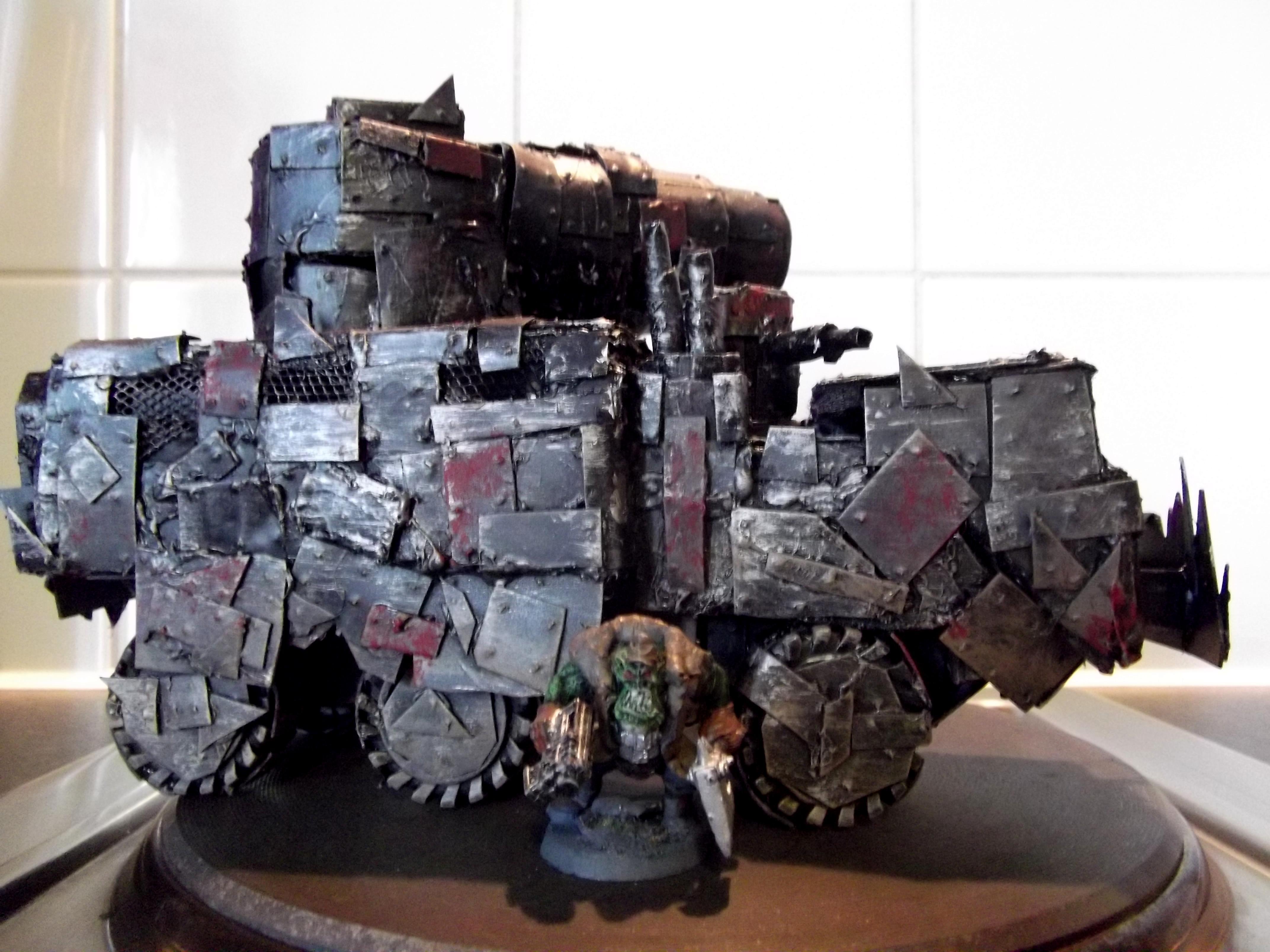 Boomgun, Looted, Orks, Rivets, Scratch Build, Wagon, Warhammer 40,000