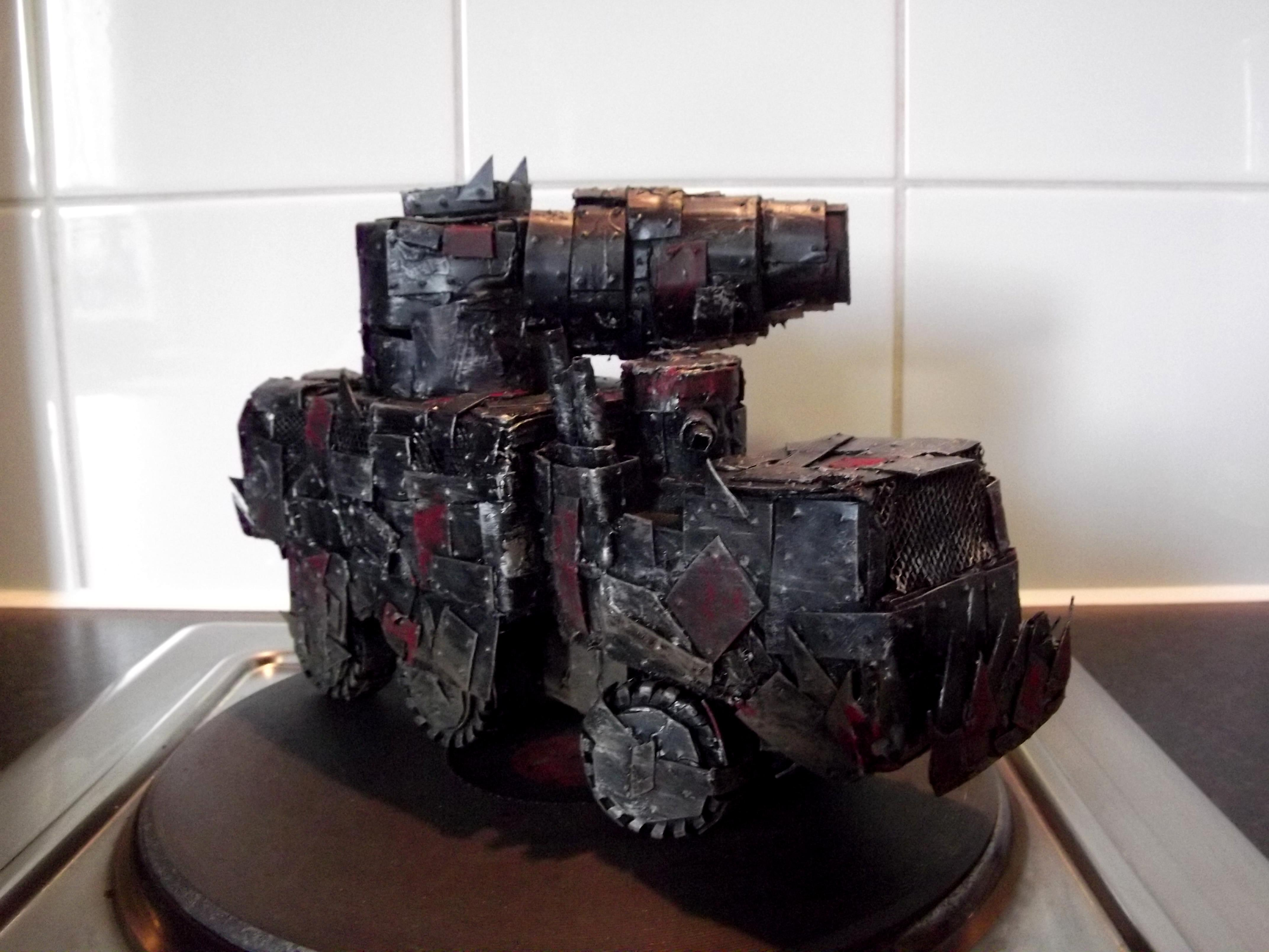 Boomgun, Looted, Orks, Rivets, Scratch Build, Wagon, Warhammer 40,000