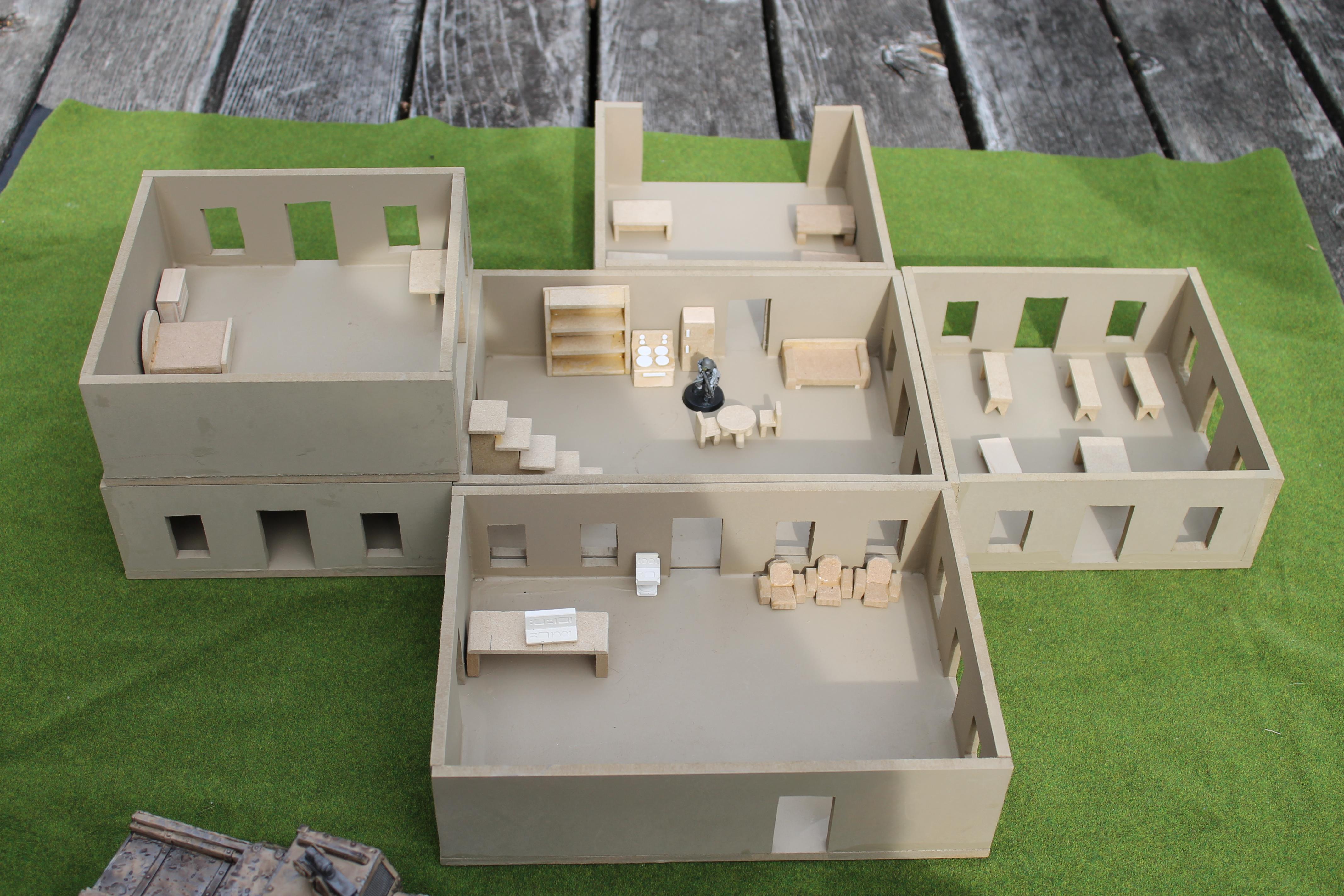 Buildings, Interior, Terrain