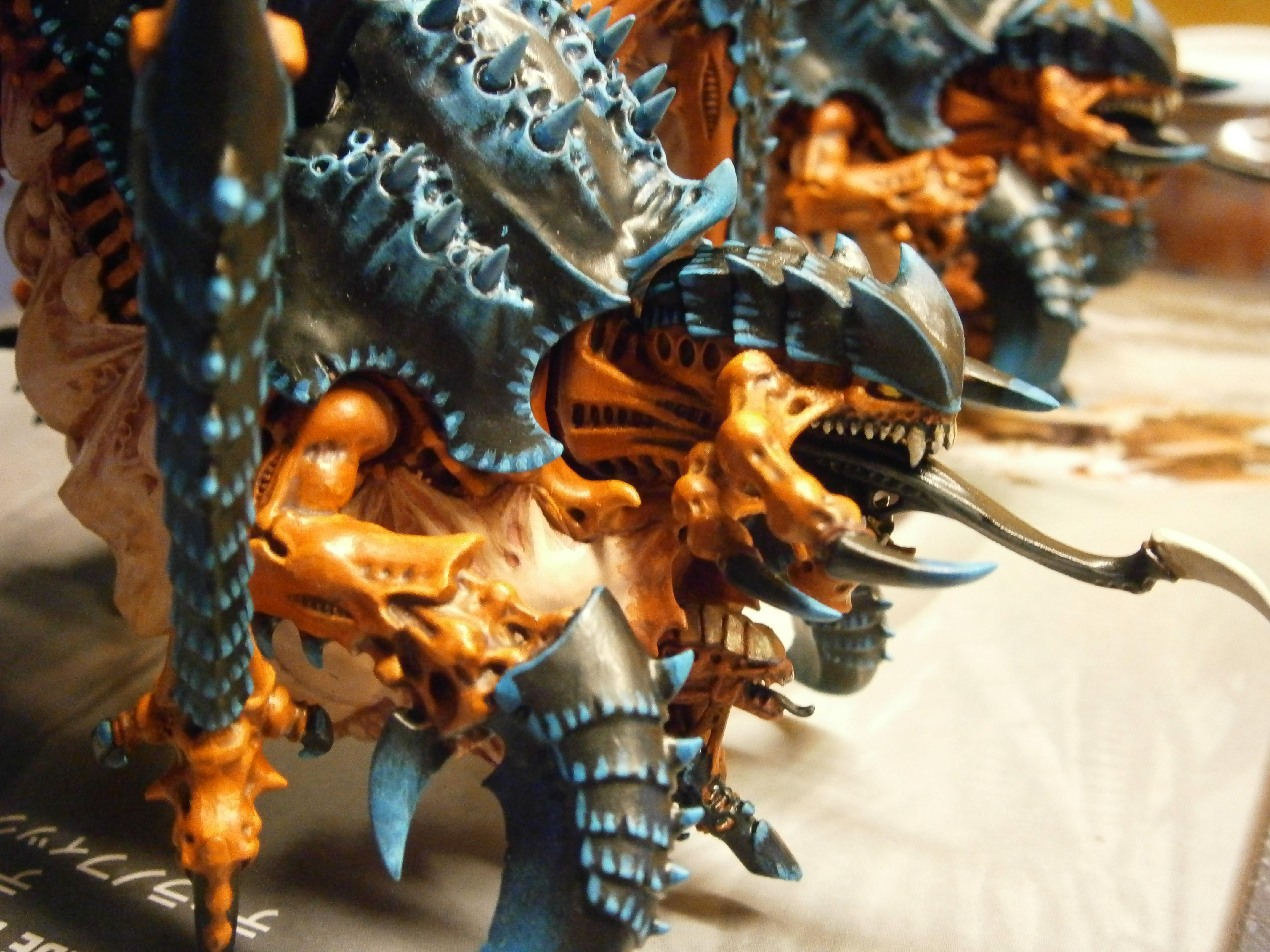 Behemoth, Tervigon, Tyranids