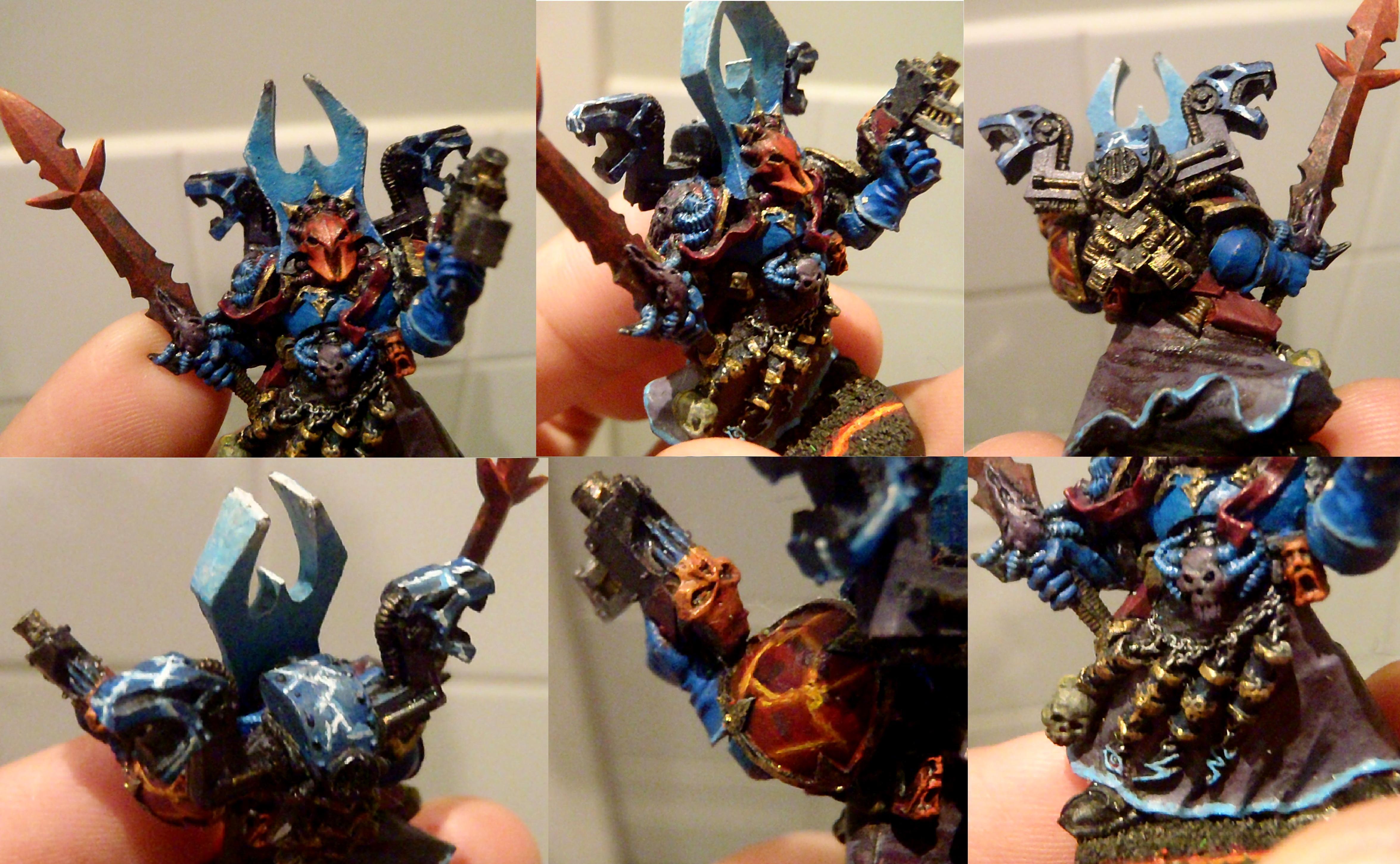 Black Legion, Chaos, Chaos Space Marines, Chaos Spacemarines, Sorcerer, Space Marines
