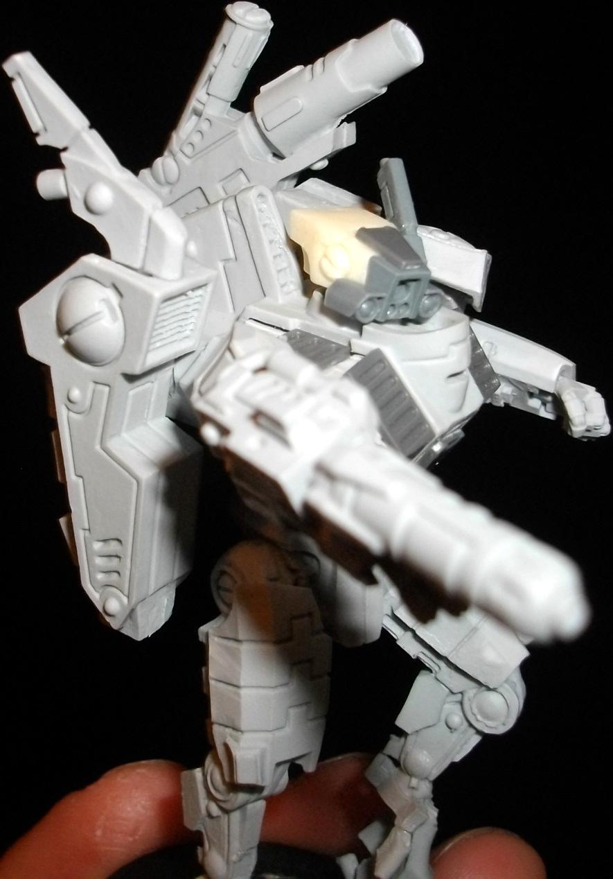 Battlesuit, Commander, Enforcer, Shas'o, Tau Empire, Xv8-05