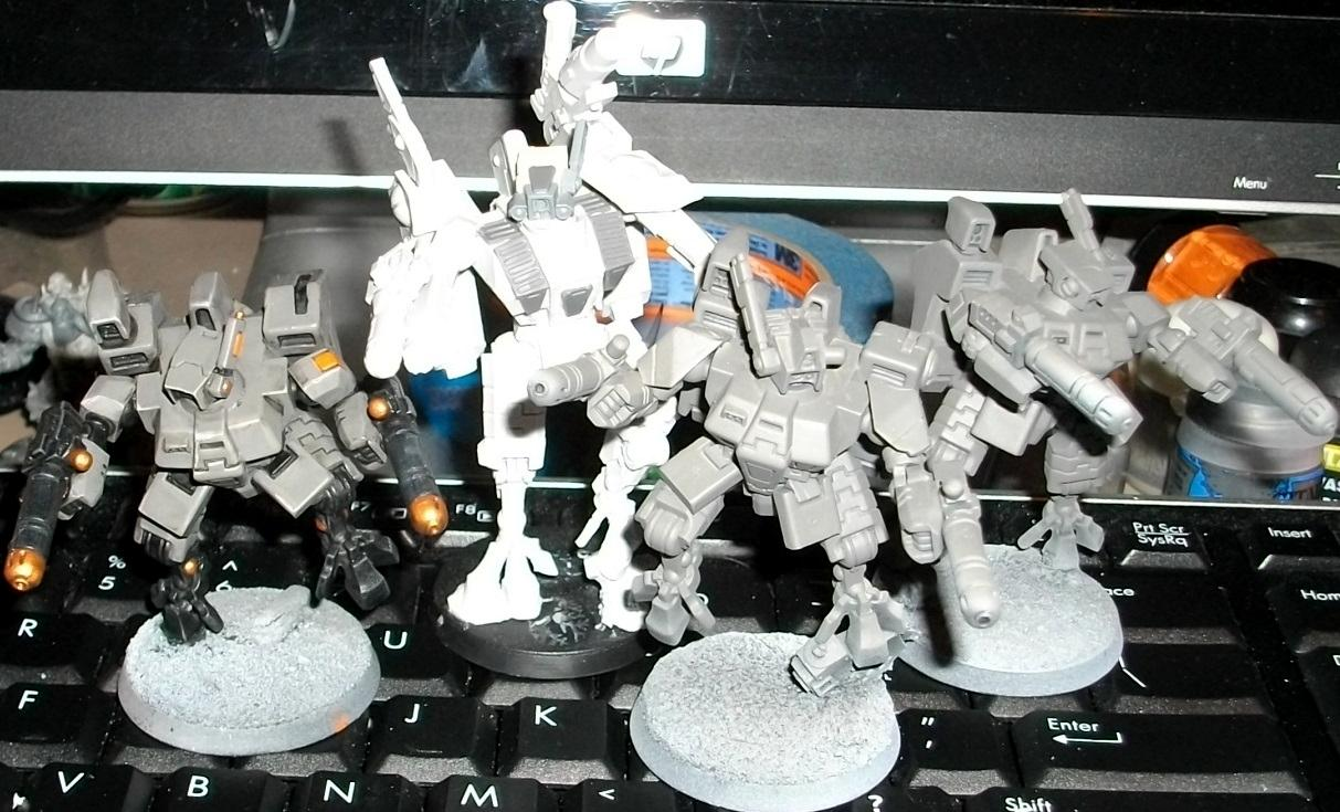 Battlesuit, Commander, Enforcer, Shas'o, Tau Empire, Xv8-05