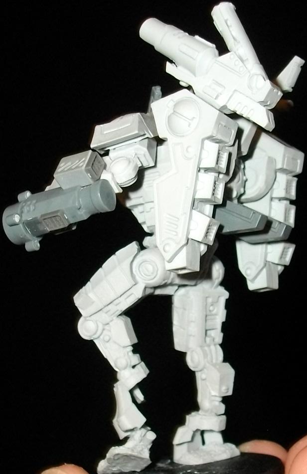 Battlesuit, Commander, Enforcer, Onager Gauntlet, Shas'o, Tau Empire, Xv8-05
