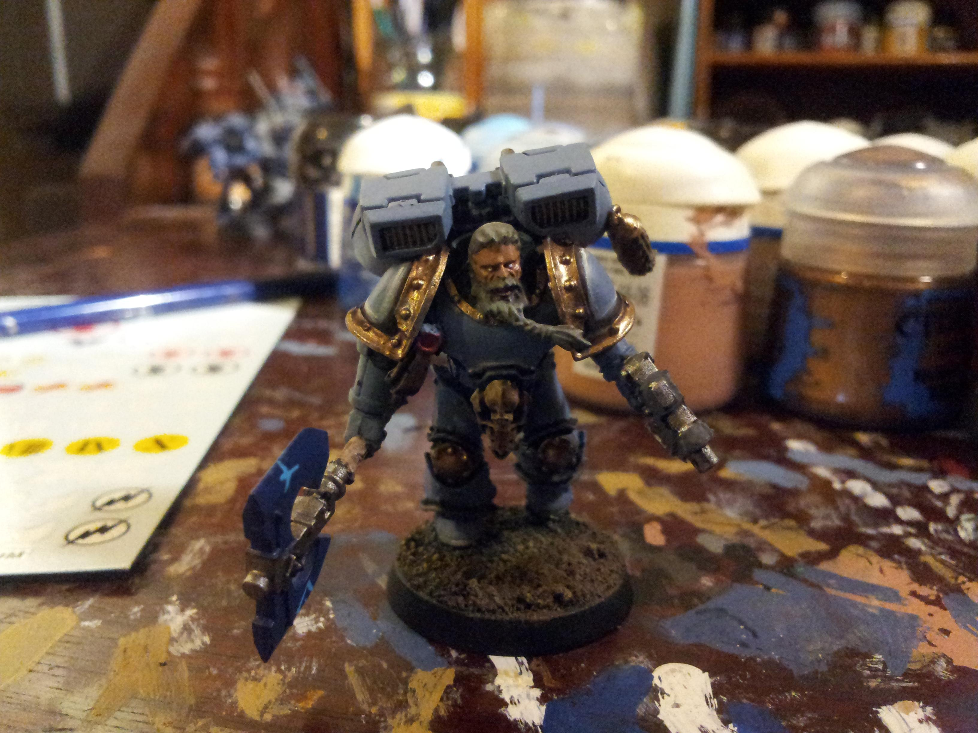 you can see on this guys shoulders where the ink went, and where the highlight followed. very quick and very easy.