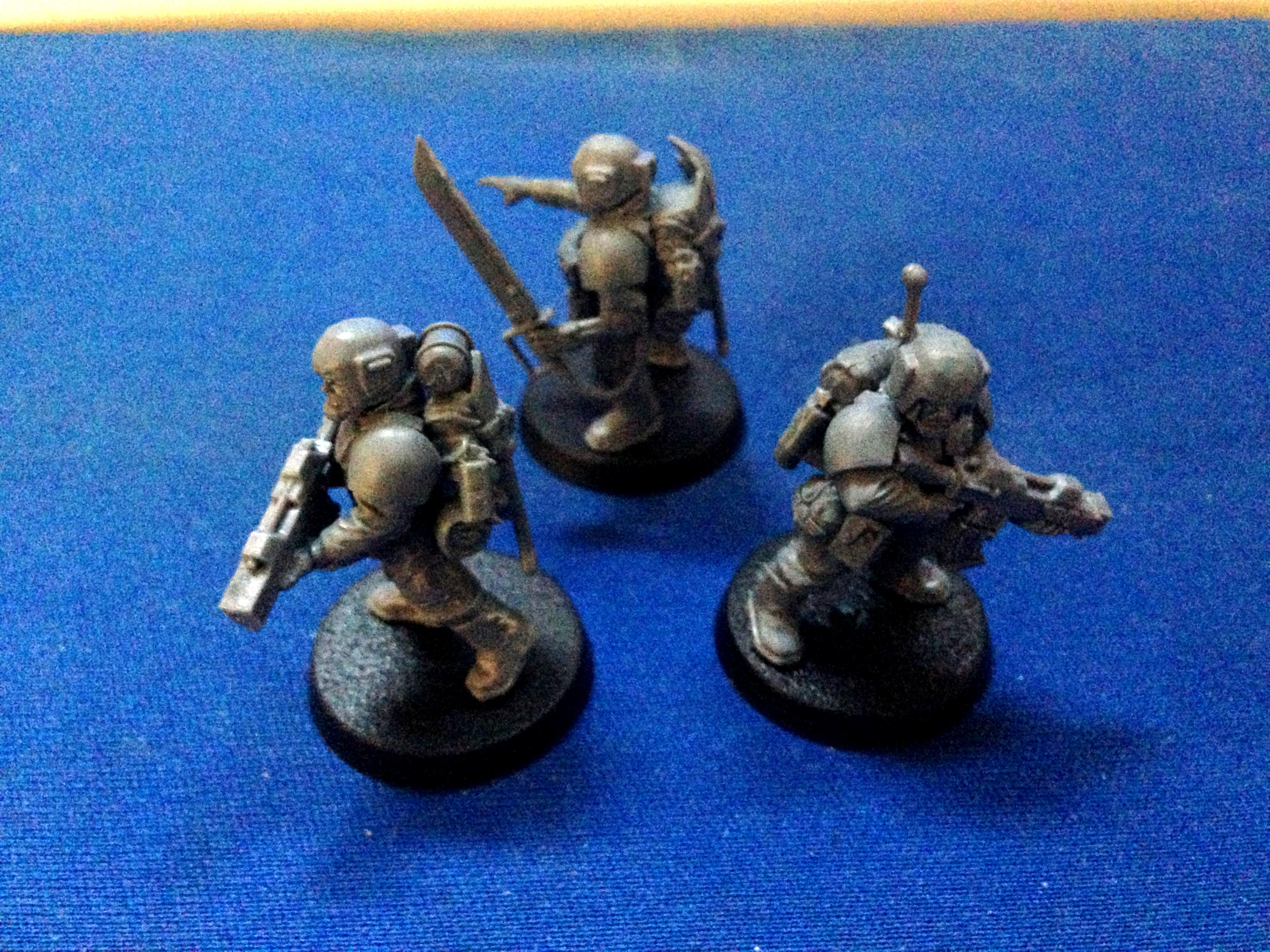 Cadians, Conversion, Imperial Guard, Paratroopers, Special Forces, Spetsnaz, Warhammer 40,000